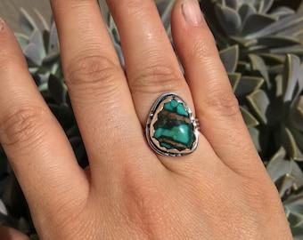 Hubei Turquoise Ring (Size 6.25)
