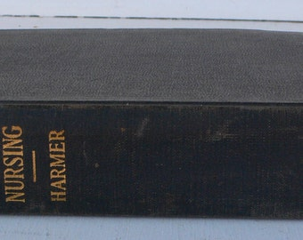 vintage medical textbook, Principles and Practice of Nursing, 1929, illustrated, free shipping, from Diz Has Neat Stuff