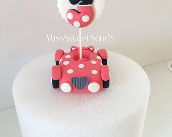 Minnie Mouse Car Topper,  Minnie Mouse Car