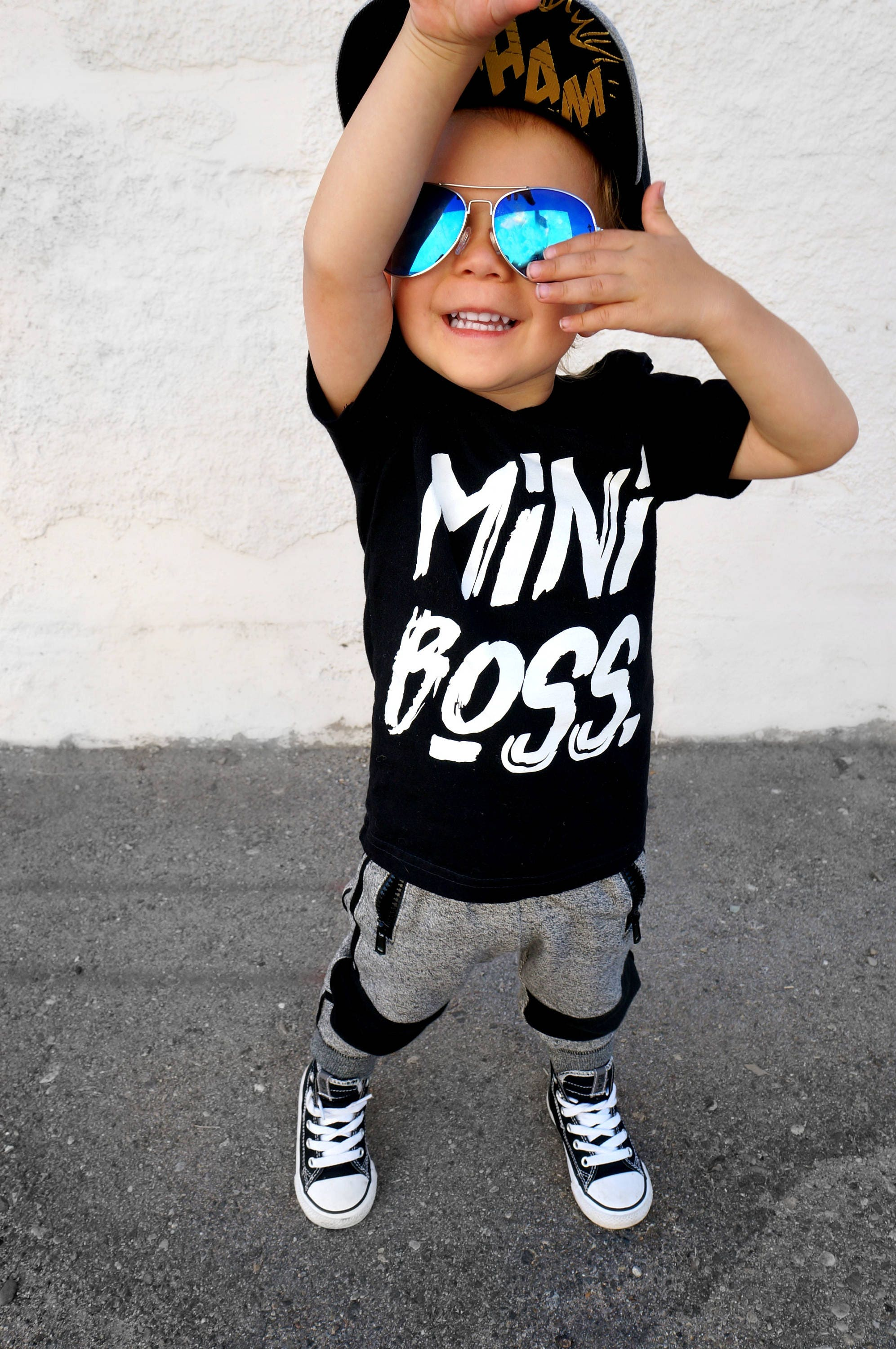 Mini Boss Tee Hipster Clothing Hipster Baby Clothes Hipster