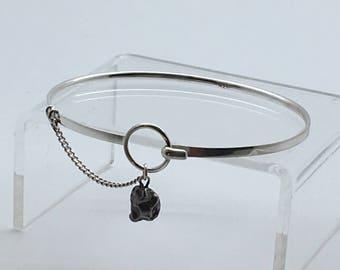 Meteorite Bracelet - dainty bracelet - delicate bracelet - minimalist bracelet - bridesmaid gift idea - simple bracelet - gift for wife bday