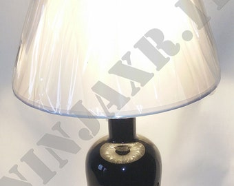 Table Lamp bottle empty Gin MOM idea gift Recycling Creative furniture design reuse Abat jour