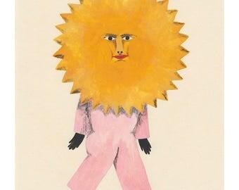 Sun Costume Giclee Print