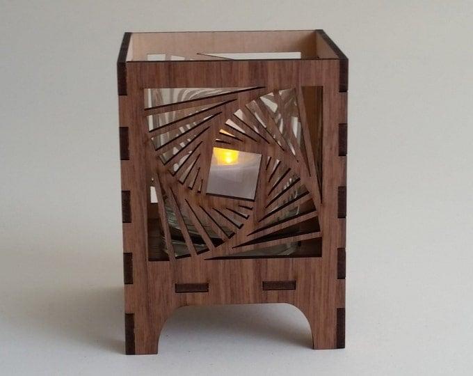 Squares Circling, Sacred Geometry Luminary