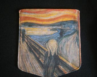 The Scream Pocket Shirt (Edvard Munch)