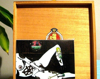 """Siren Song"" Erotic Sailor Art Print [Open Edition, 4x6""]"