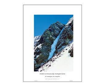 PINNACLE GULLY Ice NH Poster