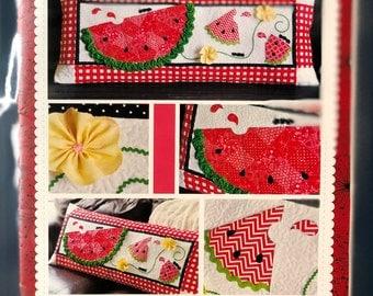 Slice of Summer Watermelon Bench Pillow Laser Cut Kit