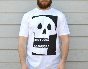 Graphic Tees Skulls Mens Tshirt Gift For Guys T-shirts Skull Print Graphic T-Shirts Gift For Man Skull Shirt Funny Tshirts Skull Shirts