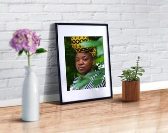 Melanin, Beautiful Woman, Black Woman, Portrait Photography, Black Queen, Afro Art, Black is Beautiful, Black Girl Magic, Black Artists