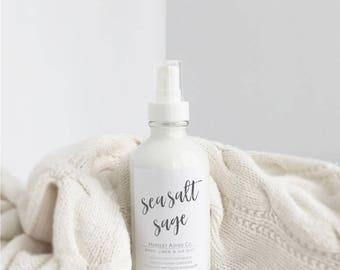 Sea Salt Sage Body/Linen/Room Mist-perfume-fragrance-body spray-body mist-linen spray-linen mist-room spray-room mist-deodorizer-home