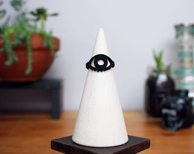 Evil Eye Midi Ring