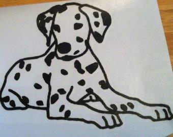 "4"" Vinyl Dalmatian Dog"