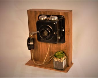 Beautiful Old Telephone / Intercom. FREE SHIPPING!