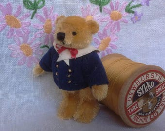 SOLD*Charlie a miniature teddy bear