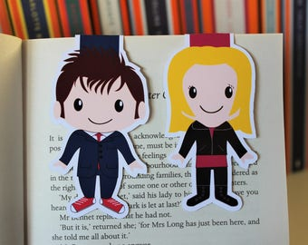 Set of The Doctor and Rose Bookmarks | Doctor Who