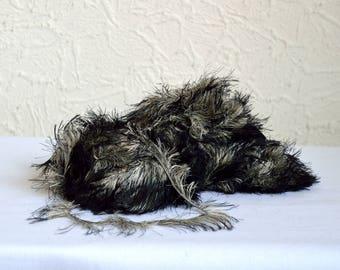Furry decorative yarns, 100g / 3.5 oz balls