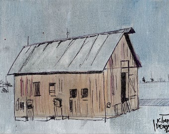 Midwest Barn Print