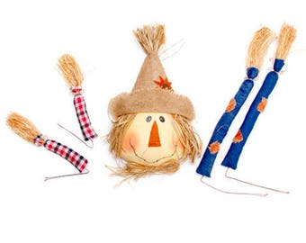 Scarecrow Wreath Kit/Wreath Supplies/Fall Decoration/30032170