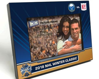 2018 NHL Winter Classic 4x6-inch Picture Frame - New York Rangers vs Buffalo Sabres