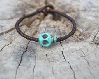 skull anklets- skull jewelry-friday jewelry-gife for my mom-energy anklets-hippie anklets-men anklets