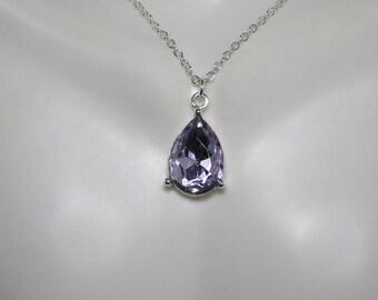Amethyst PearS Earrings Pendant Necklace