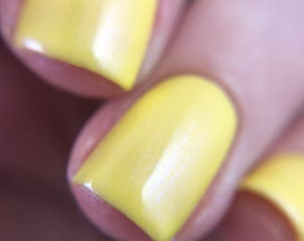 Blackberry Lemonade - Yellow Shimmer Polish