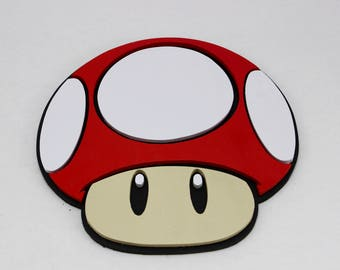 Wooden Mushroom Head