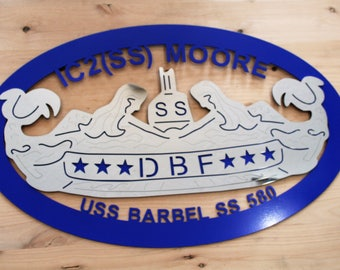 Custom Diesel Boats Forever sign,DBF Personalized Sign, Navy Retirement gift, US Navy sign, Navy submarine custom sign, Navy dbf sign