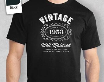 65th Birthday, 1953 Shirt, 1953 Legend, Men's T-Shirt, 65th Birthday Gift, 65th Birthday Idea, 65 Birthday Present, 65 Birthday Gift!