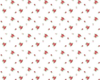 1 Yard A Little Sweetness by Tasha Noel for Riley Blake Designs- 6515 White Sweetness Vintage
