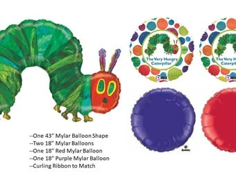 Hungry Hungry Caterpillar Balloon Set