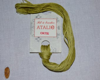 Embroidery FLOSS stranded nettle colour ATALIE