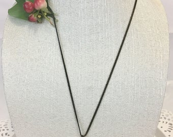 Vintage Dressform Pendant on a Chain Necklace
