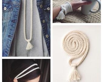 Bamboo and Silk jewelry