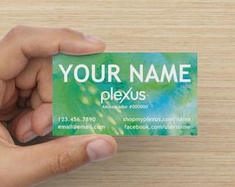Plexus Seabreeze Standard Matte Business Card