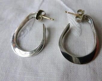 Sterling hoops
