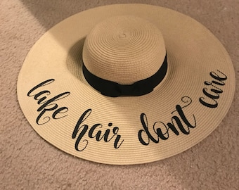Custom Floppy Hat - Beach/Lake