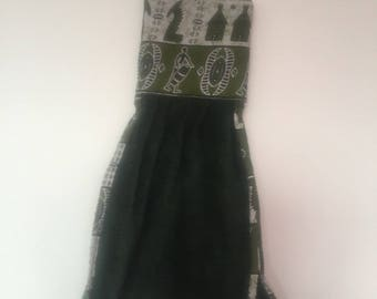 Original ethnic towel with wax