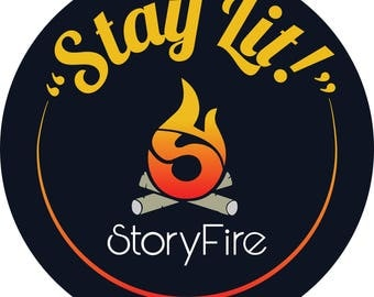 STORYFIRE STAY LIT T-shirt