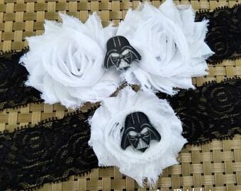 STAR WARS Garters,Dart Vader Garters, Superhero Wedding garters,Super Hero Bridal Garter Set,Black and White garters,Toss Custom Garter Belt