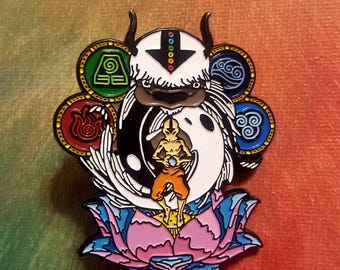 Appa & Avatar the Last Airbender Hat Pin