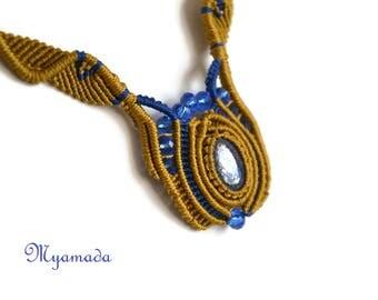 Micromacrame  Necklace