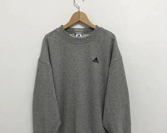 20% OFF Vintage Adidas Sweatshirt,Adidas Sweater,Hip Hop,Swag,Adidas Sportwear