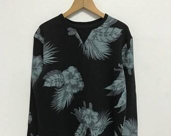 20% OFF Vintage O'neill Sweatshirt/O'neill Hibiscus Design Sweater Surfing/Team O'neill Crewneck