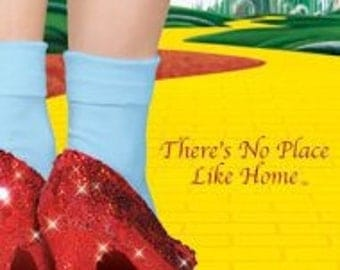 "Wizard of Oz - ""There's No Place Like Home"" - 24x36"" Poster"