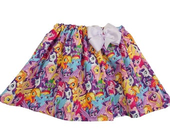 Girl My Little Pony birthday Skirt Girl My Little Pony skirt Girl Skirt Girl Dress  Girl birthday skit, baby Skirt , Toddle skirt, Skirts