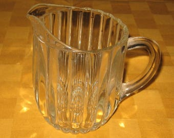 National 20 oz. pitcher made by the Jeannette Glass Co