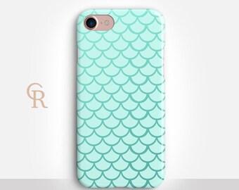 Mermaid Phone Case For iPhone 8 iPhone 8 Plus iPhone X Phone 7 Plus iPhone 6 iPhone 6S  iPhone SE Samsung S8 iPhone 5 Samsung S8 Plus