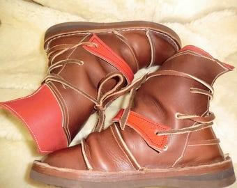 Granada boots Brown and Red 38